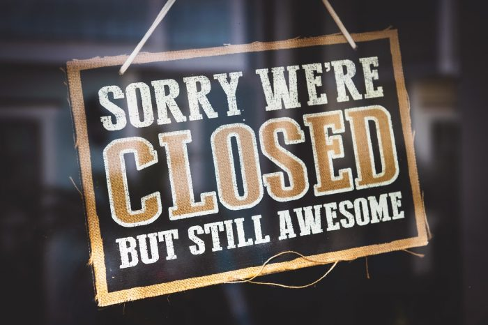 затворени ресторанти, заради корона вирус